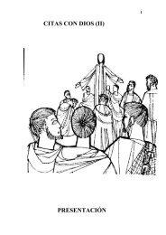 CITAS CON DIOS (II) - Autores Catolicos