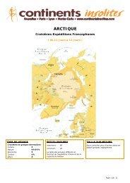 ARCTIQUE - Continents Insolites