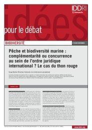 ID 1009 serge beslier thon rouge - Iddri