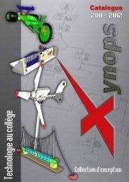 Catalogue au format PDF - Xynops