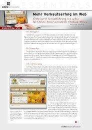 Verkaufserfolg im Web