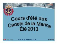 Cours Marine été 2013-fra