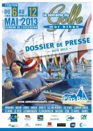 Dossier de Presse Avril 2013 - Semaine du Golfe