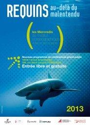 Programme - Requins : au-delà du malentendu - Le Cluster ...