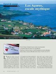Les Açores, escale mythique – Robert Guégan - L'Escale Nautique