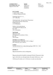 Sida 1 (10) Mål nr UM 223-08 Avdelning 9 LÄNSRÄTTEN I ... - Avpixlat