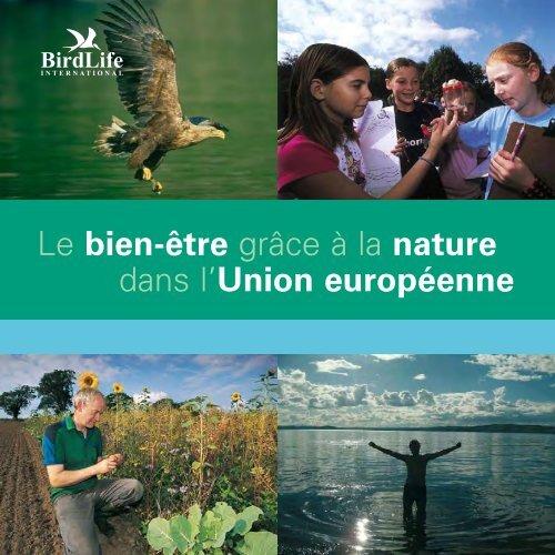 Le bien-être grâce à la nature dans l'Union européenne - BirdLife ...