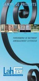 Gamme Produits 2007 - Auvergne Habitat Marché