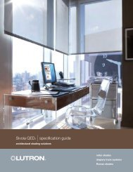 Sivoia QED® |specification guide - Loyola Enterprises Inc. Audio ...