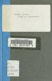 Faust et Marguerite; drame fantastique en trois actes et quatre ...