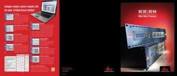 SC 32 SC 64 - AudioMaster