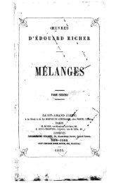 D'ÉDOU\RD RICHER - Livres mystiques