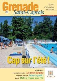 Télécharger le bulletin municipal - Mairie de Grenade sur Garonne