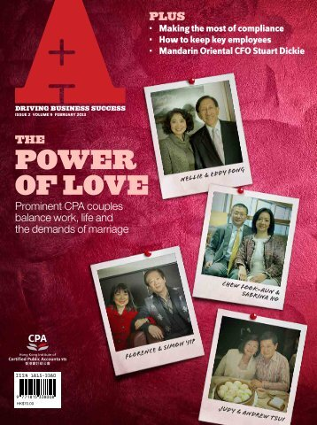 power of love - Hong Kong Institute of Certified Public Accountants