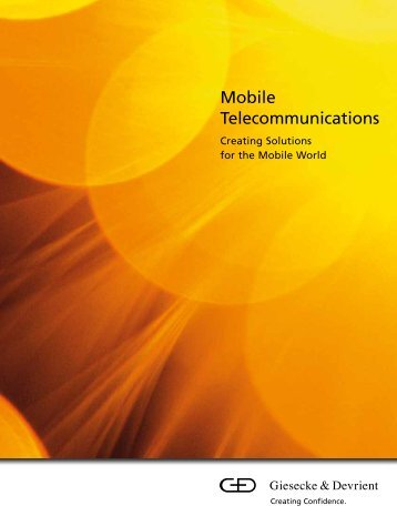 Mobile Telecommunications - Zeilbeck Design Company