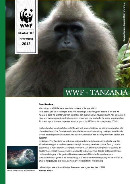 About WWF-Tanzania