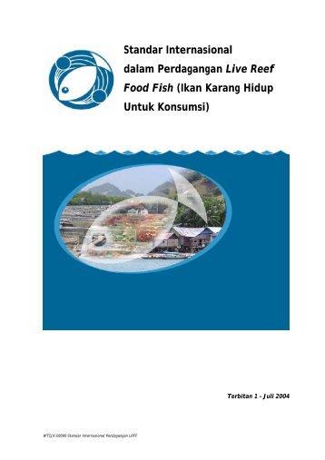 Standar Internasional dalam Perdagangan Live Reef Food Fish ...