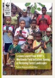 Lessons Learnt from WWF's Worldwide Field Initiatives Aiming at ...