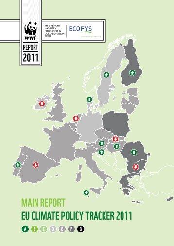MAin rEport EU CliMAtE poliCy trACkEr 2011 - WWF