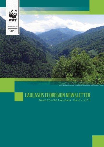CAUCASUS ECOREGION NEWSLETTER - WWF