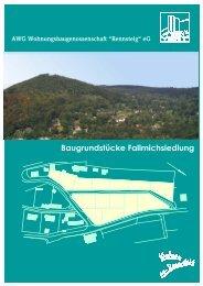 Baugrundstücke Fallmichsiedlung - AWG