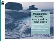 Managing an area - WWF