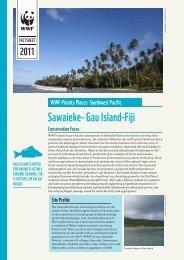 Sawaieke- Gau Island-Fiji - WWF