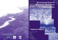 Environmental Criteria for Hydropower in the Mekong Region - WWF