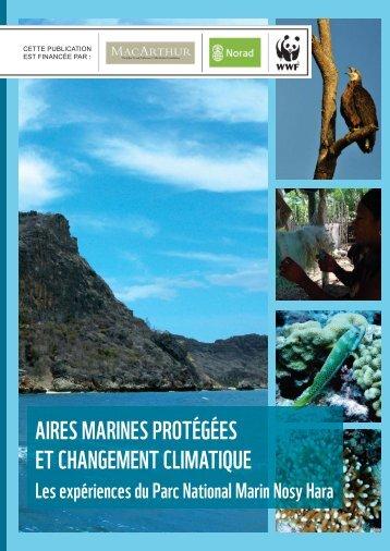 aires marines protégées et changement climatique - WWF