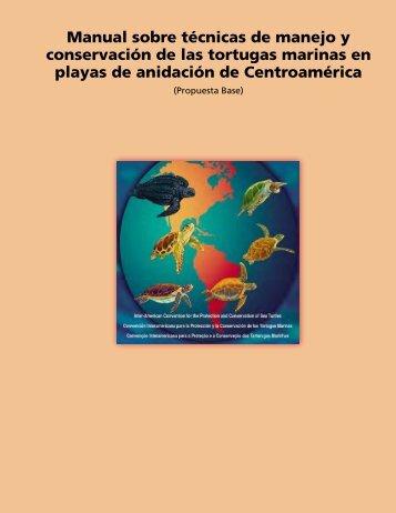 Manual sobre técnicas de manejo y conservación de ... - WIDECAST