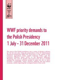 WWF priority demands to the Polish Presidency 1 July – 31 ...