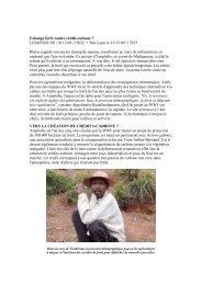 Echange forêt contre crédit-carbone ? LEMONDE.FR | 10.12 ... - WWF