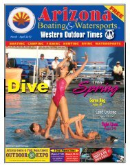 Western Outdoor Times - Arizona Boating & Watersports