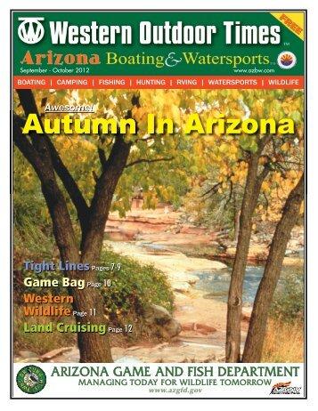 Autumn In Arizona - Arizona Boating & Watersports