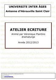 recueil - UIA-HSC : Accueil