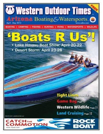 April 20-22 • Des - Arizona Boating & Watersports