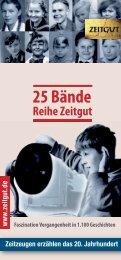25 Bände - Zeitgut Verlag GmbH