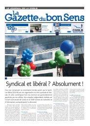 Syndical et libéral ? Absolument ! - read me