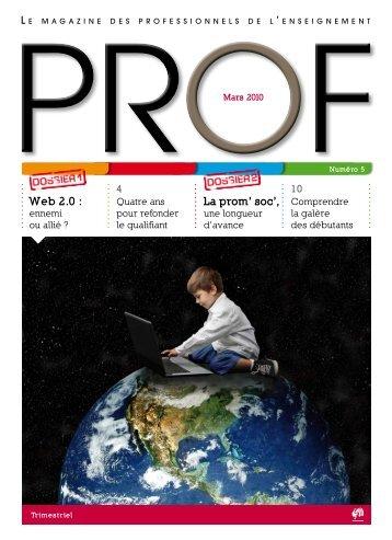 PROF n°5 - Enseignement en Communauté française