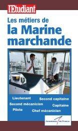 les métiers de la Marine marchande