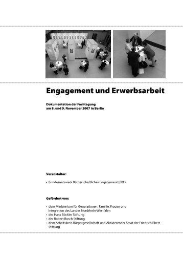 Engagement und Erwerbsarbeit - Quartiersmanagement Berlin