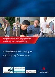 Bürgerschaftliches Engagement = Bildung durch Beteiligung - BBE