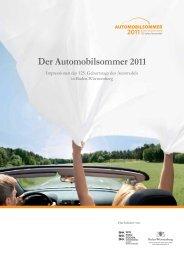 Impressionen Automobilsommer 2011 - B2B - Baden-Württemberg