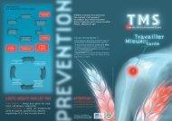 TMS-Dépliant FNSEA - Santé et Sécurité en agriculture - MSA