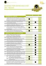 Kriterien Ort/ Region Landeswettbewerb 2013 - B2B