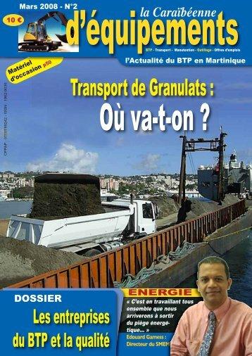 CARRIÈRES GOUYER - BTP ANTILLES