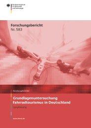 Fahrradtourismus in Deutschland ... - Bayernbike