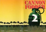 Cannon Fodder 2 manual.rtf - Lucas' Abandonware