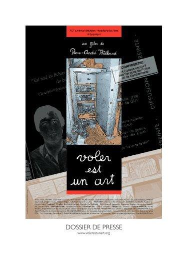 DOSSIER DE PRESSE - PCT cinéma télévision SA
