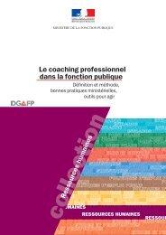 Le coaching professionnel - Fonction publique
